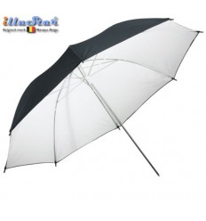 URD100WB - Umbrella ø101cm - Transparent or White reflective through removable reflective coating - illuStar