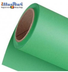 BPC-GK - Rouleau de Poly-Canvas de fond 3 x 6 m (+/- 180g/m²) - (Chroma key) couleur incrusté Vert