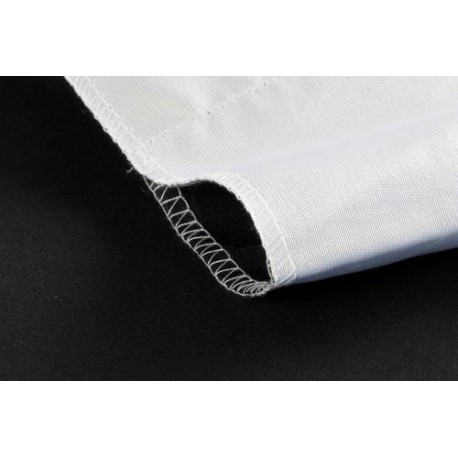 StudioKing Background Cloth 2,7x5 m White/Black