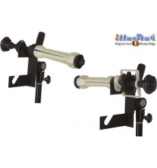 H-2EX - Double Hook (two axis) for 2x Expan (background rolls) - Fits on spigot of light stand (1 pair)