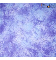 BM004 - Backdrop 3 x 6 m - High quality cotton muslin - Pocket loop for crossbar at the top - Crush Dyed - illuStar