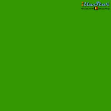 BM-GK - Backdrop 3 x 6 m - High quality cotton muslin - Pocket loop for crossbar at the top  -  (Chroma key) Green