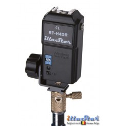 RT-H4D - Strobist Radio wave Flash Trigger set (Transmitter + Receiver with Hot-Shoe,  4-channels